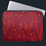 "Burgundy Red Wine Pearl Laptop Sleeve<br><div class=""desc"">Burgundy laptop covers. Red wine laptop covers. Maroon laptop covers. Pearls laptop covers. Red laptop covers. Elegant laptop covers.</div>"
