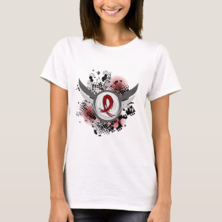 Burgundy Ribbon And Wings Multiple Myeloma T-Shirt