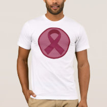 Burgundy Ribbon T-Shirt