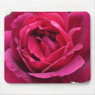 Burgundy Rose Mouse Pad