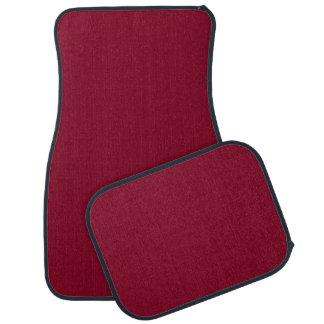BURGUNDY (solid color) ~ Car Floor Mat