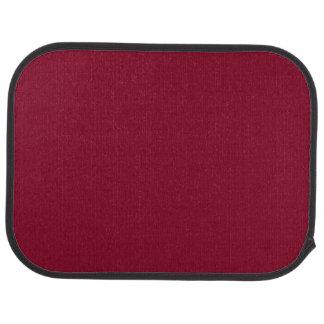 BURGUNDY (solid color) ~ Car Mat