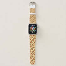Burgundy Standard Ribbon by Kenneth Yoncich Apple Watch Band