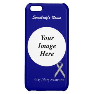 Burgundy Standard Ribbon Template iPhone 5C Cases