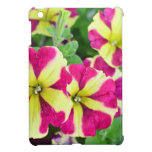 Burgundy Star Petunias Cover For The iPad Mini