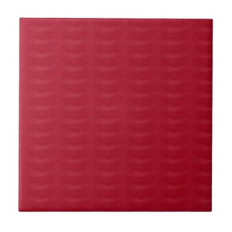 Burgundy Textured Print Ceramic Tile