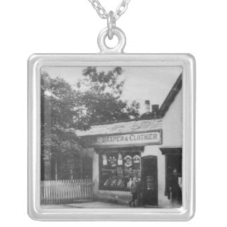 Burham, Kent, c.1909 Silver Plated Necklace