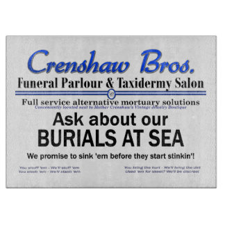 Burial at Sea Cutting Boards