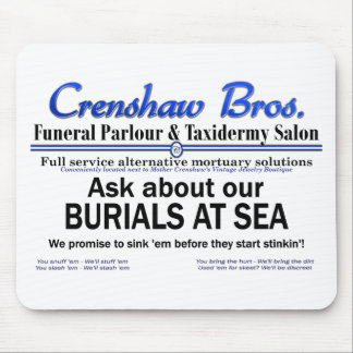 Burial At Sea Mouse Pads