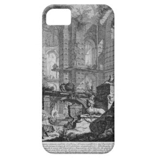 Burial chamber invented and designed in accordance iPhone SE/5/5s case
