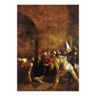 Burial of Saint Lucy by Caravaggio (1608) Custom Announcements