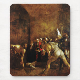 Burial of Saint Lucy by Caravaggio (1608) Mouse Pad