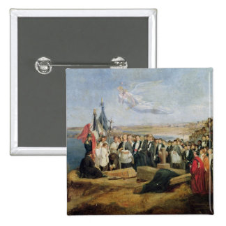 Burial of the Vicomte de Chateaubriand Pinback Buttons