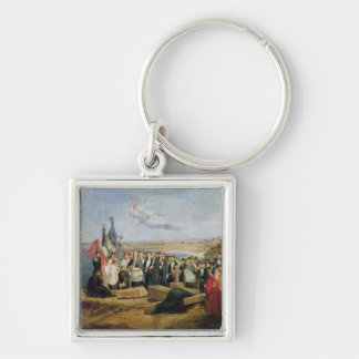Burial of the Vicomte de Chateaubriand Keychain