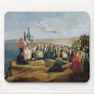 Burial of the Vicomte de Chateaubriand Mouse Pad
