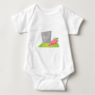 Burial Vault Baby Bodysuit