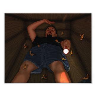 Buried in the Boo Box Photo Print