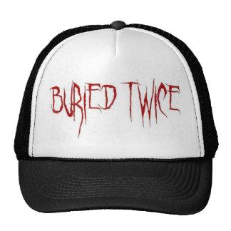 Buried Twice Trucker Hat