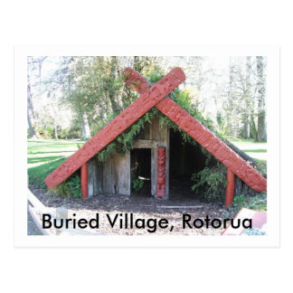 Buried Village Postcard