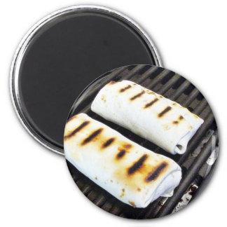 Buritos Grilling Fridge Magnet