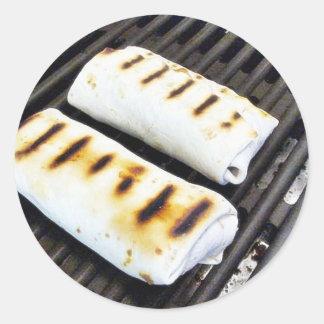 Buritos Grilling Sticker