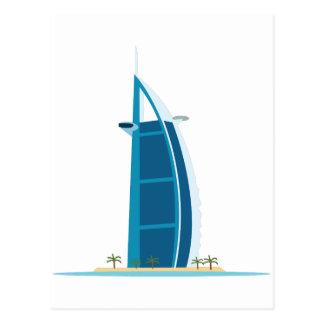 Burj Al Arab Dubai Postcard