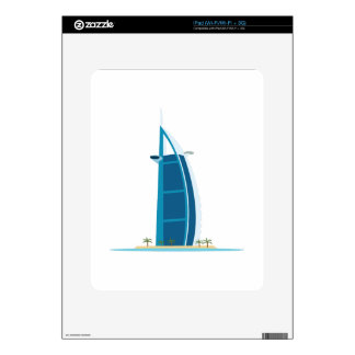 Burj Al Arab Dubai Skin For The iPad