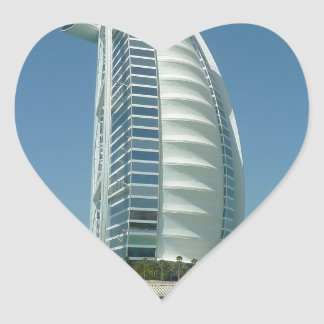 Burj Al Arab Heart Sticker
