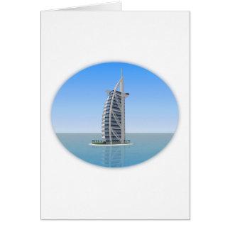 Burj Al Arab Hotel Dubai: 3D Model: Card