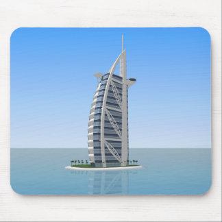 Burj Al Arab Hotel Dubai: 3D Model: Mouse Pad