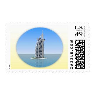 Burj Al Arab Hotel Dubai: 3D Model: Stamp