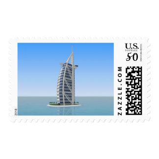 Burj Al Arab Hotel Dubai: 3D Model: Postage