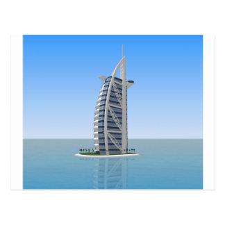 Burj Al Arab Hotel Dubai: 3D Model: Postcard
