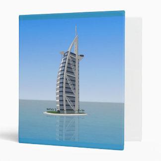 Burj Al Arab Hotel Dubai: Custom Binder