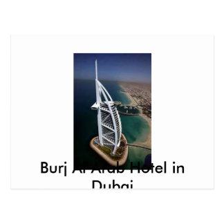 Burj Al Arab Hotel in Dubai Postcard