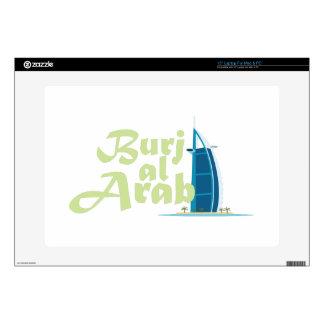 """Burj Al Arab Skin For 15"""" Laptop"""