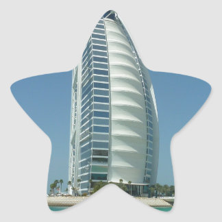 Burj Al Arab Star Sticker