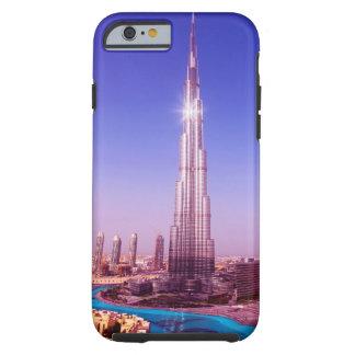 Burj Dubai al top Funda De iPhone 6 Tough