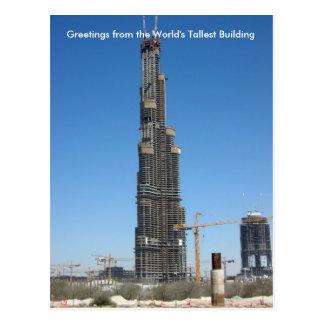 Burj Dubai Postcard