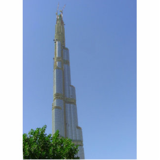 Burj Dubai - torre de Dubai Fotoescultura Vertical
