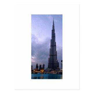 Burj Khalifa 2 Tarjeta Postal