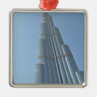 Burj Khalifa 3 Metal Ornament
