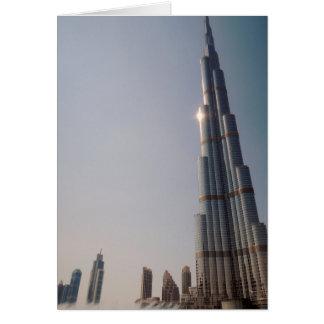 Burj Khalifa 4 Card