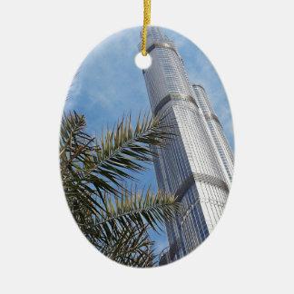 Burj Khalifa Ceramic Ornament