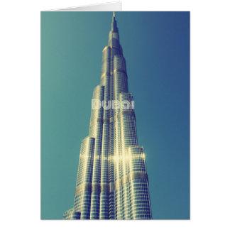 Burj Khalifa, Dubai Card