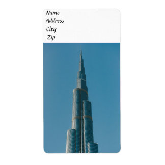 Burj Khalifa,Dubai Label