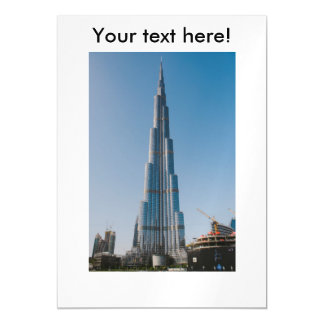 Burj Khalifa,Dubai Magnetic Card