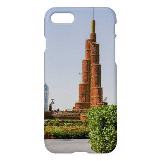 Burj Khalifa,Dubai Miracle Garden iPhone 8/7 Case