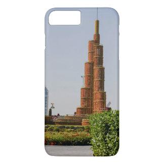 Burj Khalifa,Dubai Miracle Garden iPhone 8 Plus/7 Plus Case