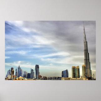 Burj Khalifa Dubai Posters